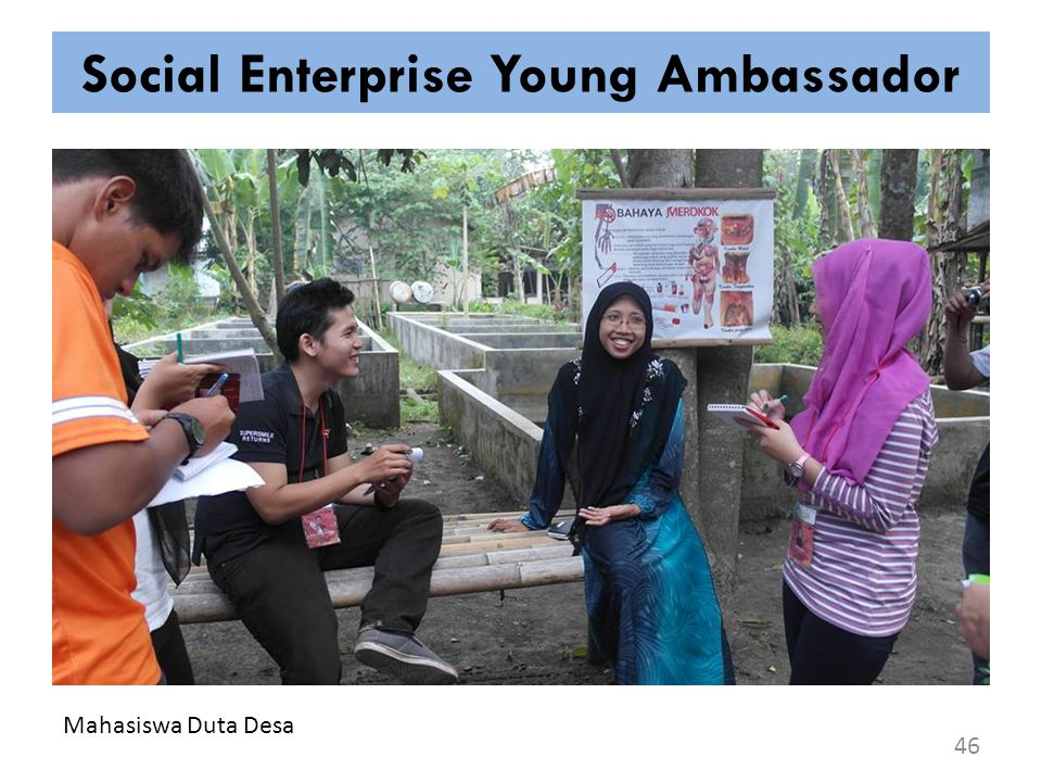 Social Enterprise Young Ambassador