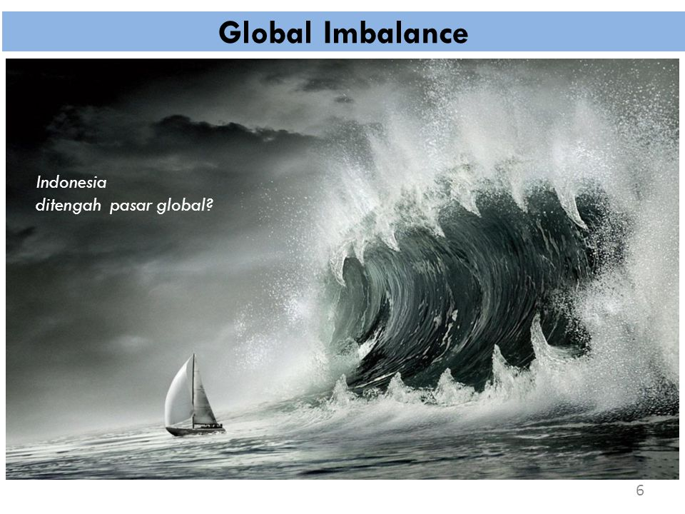 Global Imbalance Indonesia ditengah pasar global