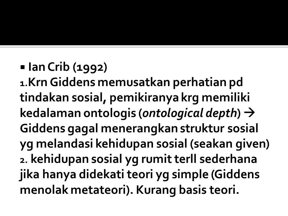 Ian Crib (1992)