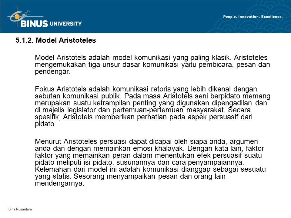 5.1.2. Model Aristoteles