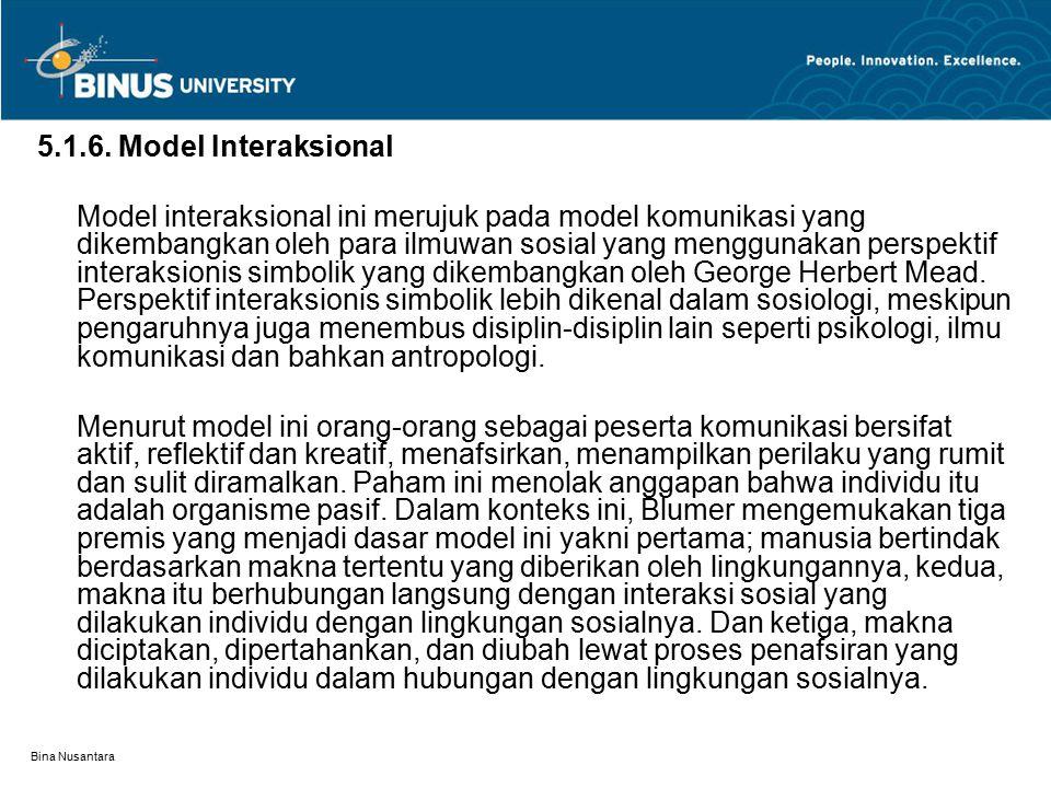 5.1.6. Model Interaksional