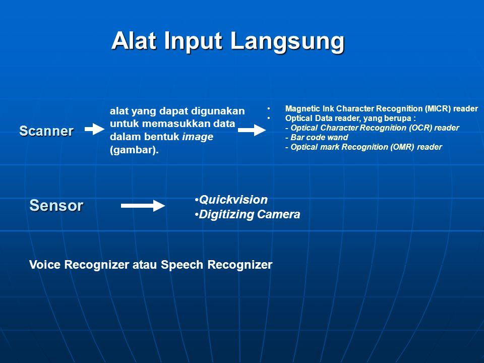 Alat Input Langsung Sensor Scanner Quickvision Digitizing Camera