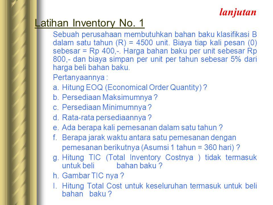 lanjutan Latihan Inventory No. 1