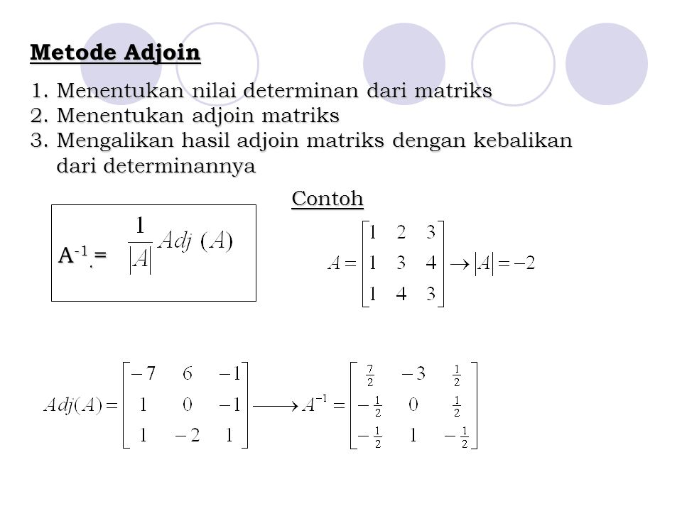 Metode Adjoin