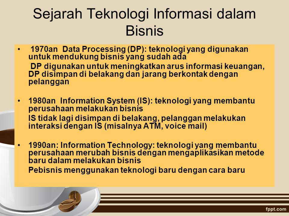 Sejarah Teknologi Informasi dalam Bisnis