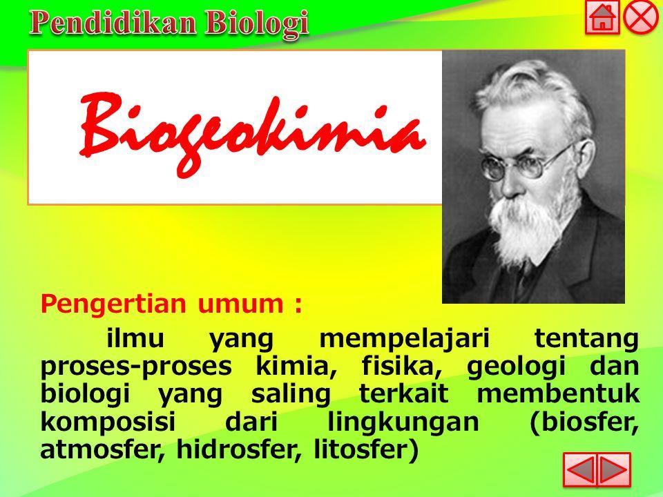 Biogeokimia