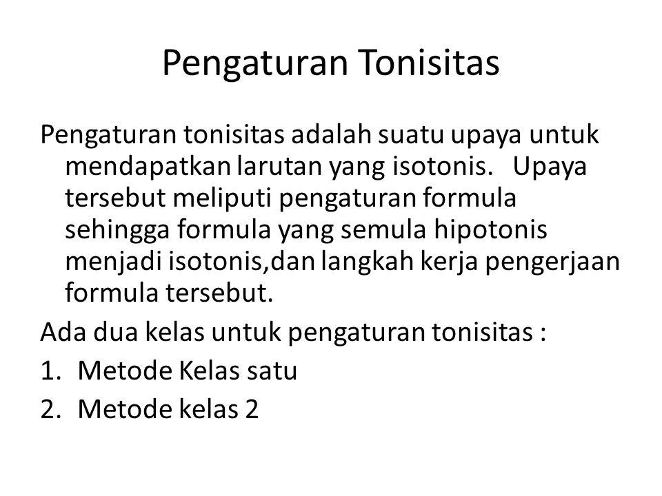 Pengaturan Tonisitas
