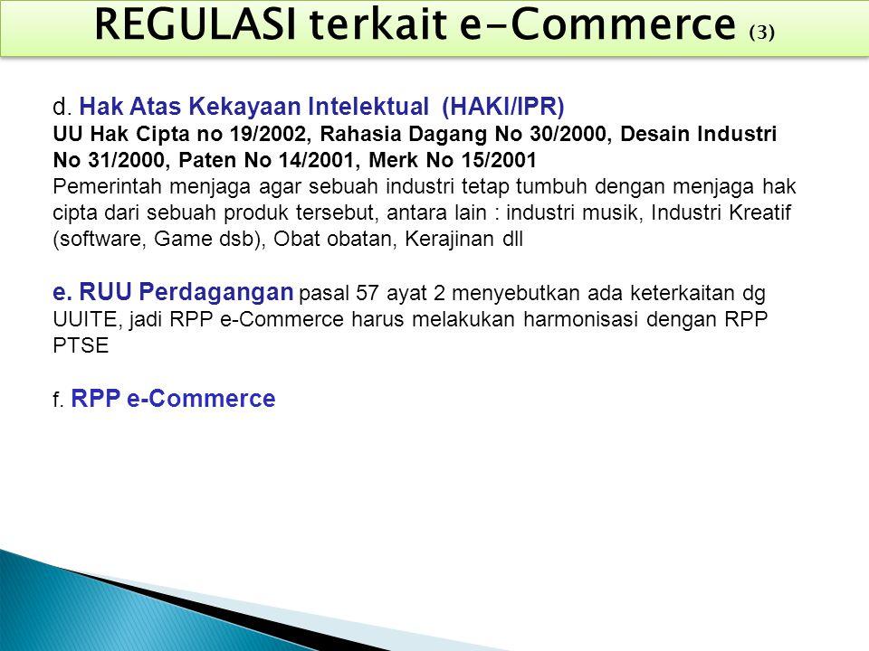 REGULASI terkait e-Commerce (3)