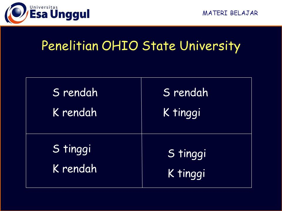 Penelitian OHIO State University