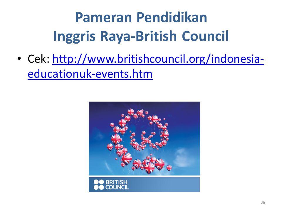 Pameran Pendidikan Inggris Raya-British Council