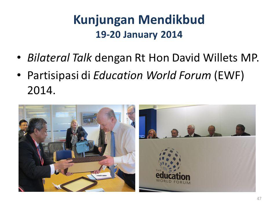Kunjungan Mendikbud 19-20 January 2014