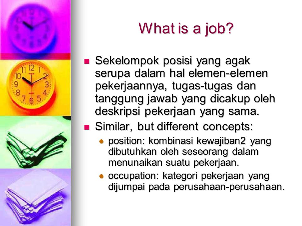 What is a job