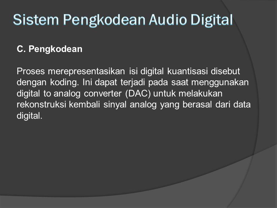 Sistem Pengkodean Audio Digital