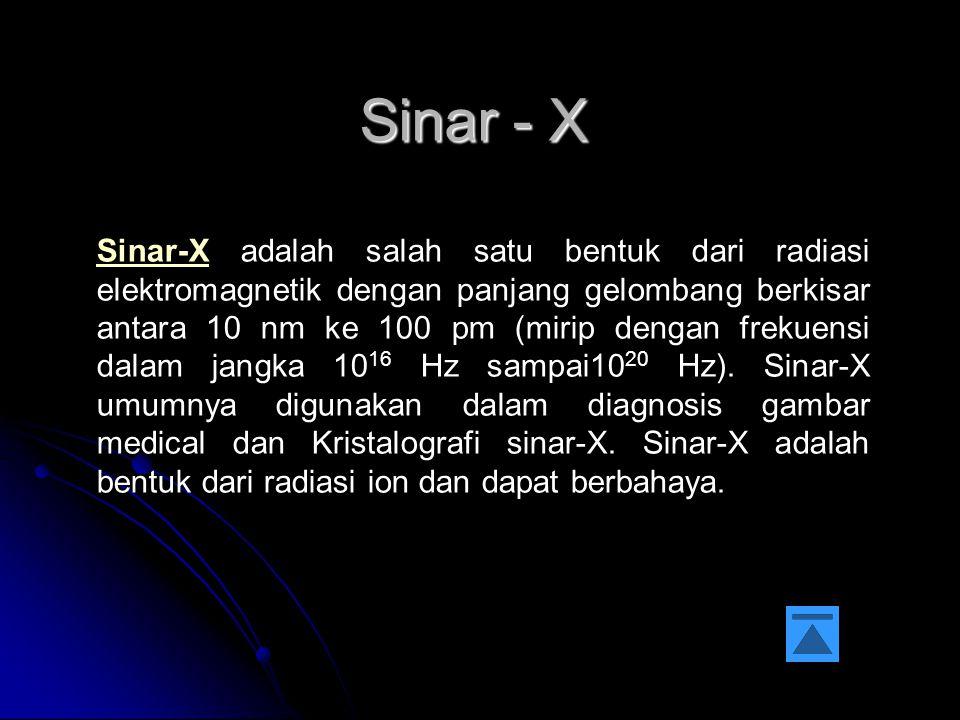 Sinar - X