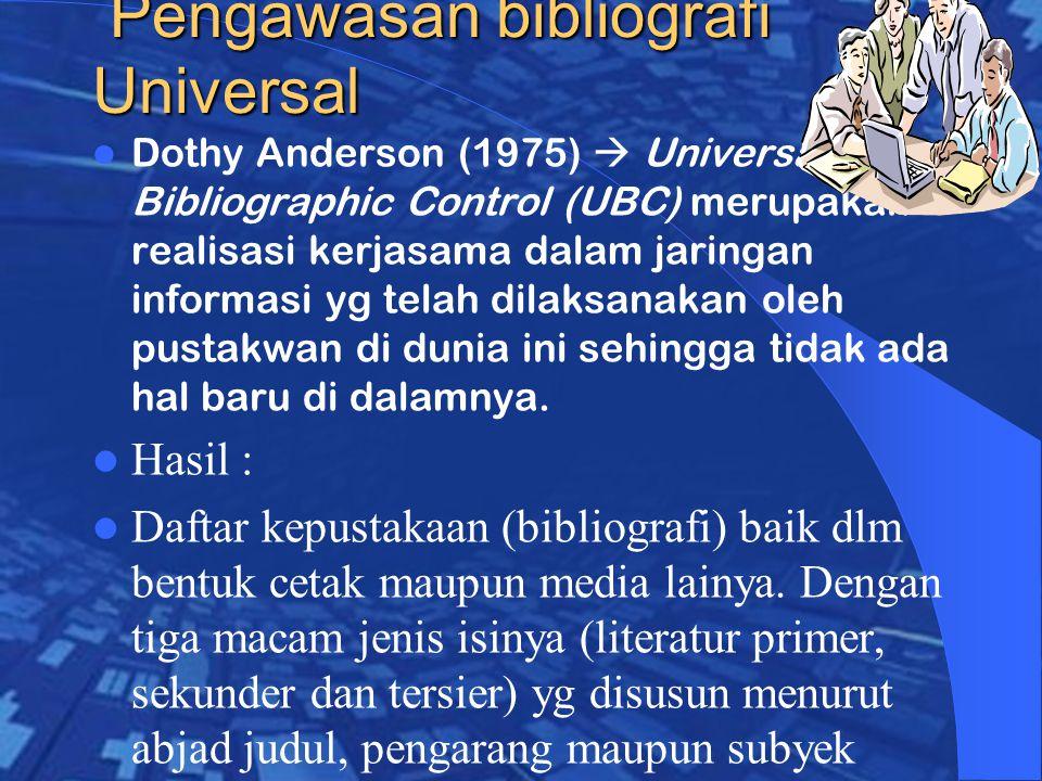 Pengawasan bibliografi Universal