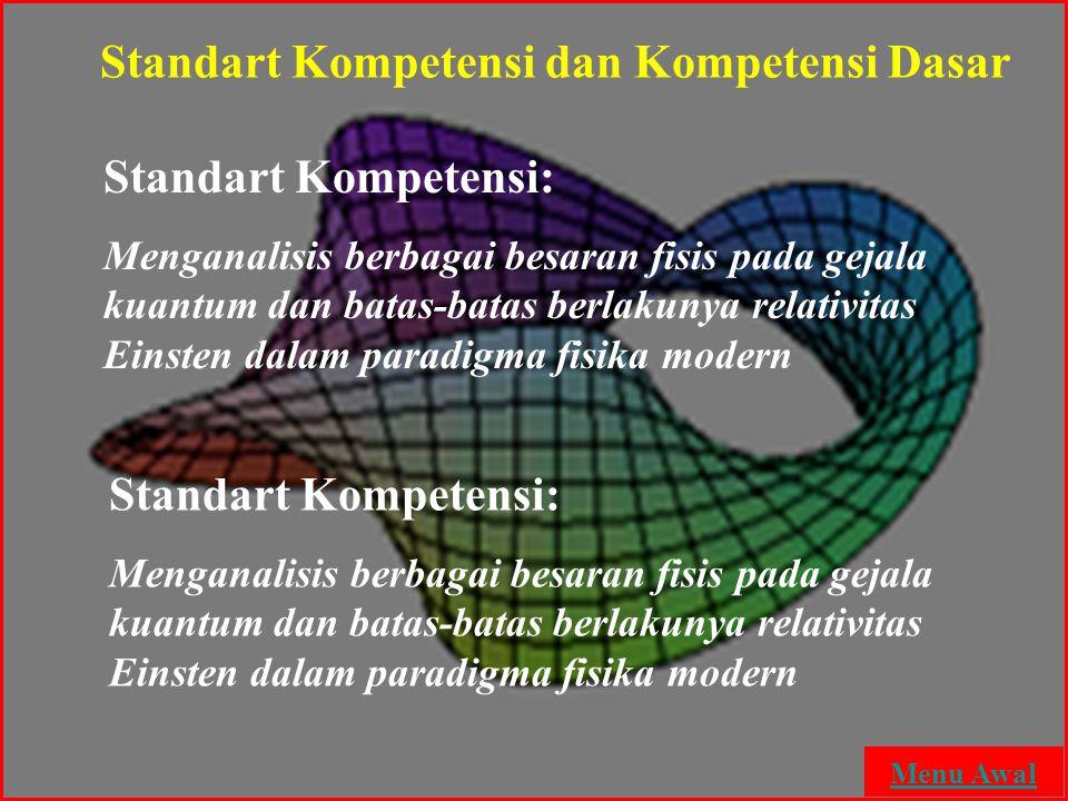 Standart Kompetensi dan Kompetensi Dasar