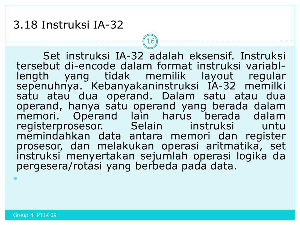 3.18 Instruksi IA-32