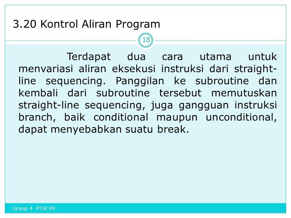 3.20 Kontrol Aliran Program