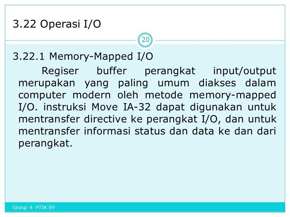 3.22 Operasi I/O