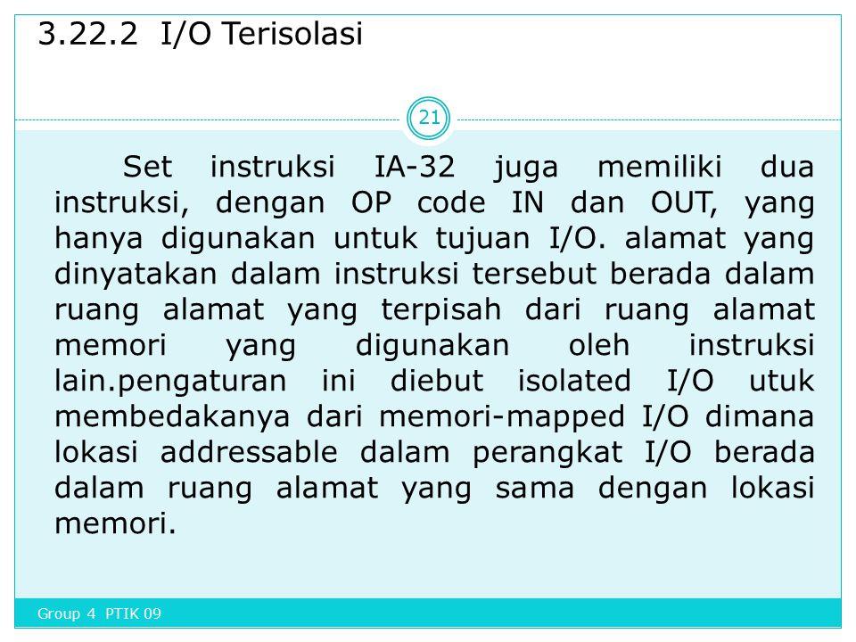 3.22.2 I/O Terisolasi