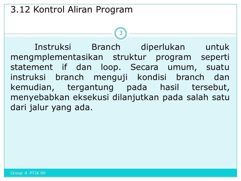 3.12 Kontrol Aliran Program