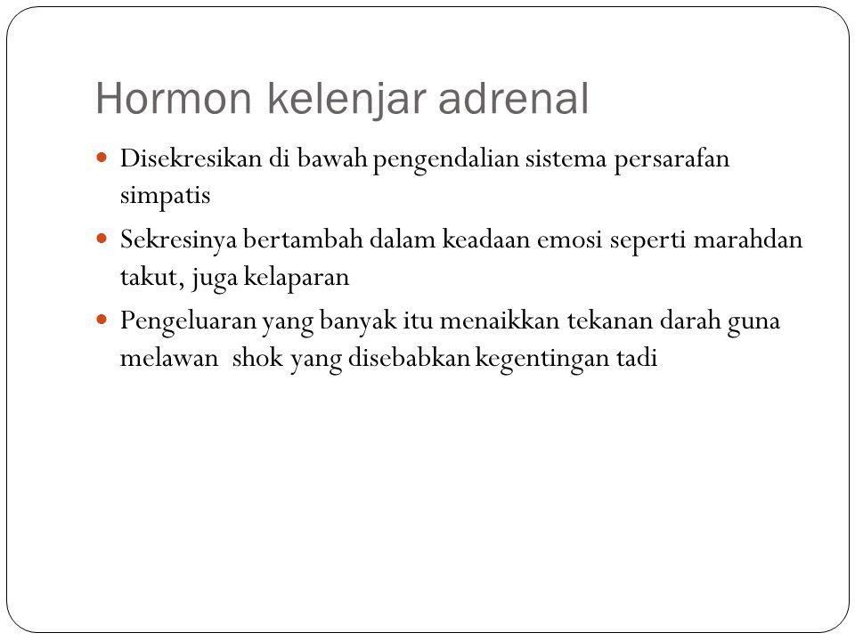 Hormon kelenjar adrenal