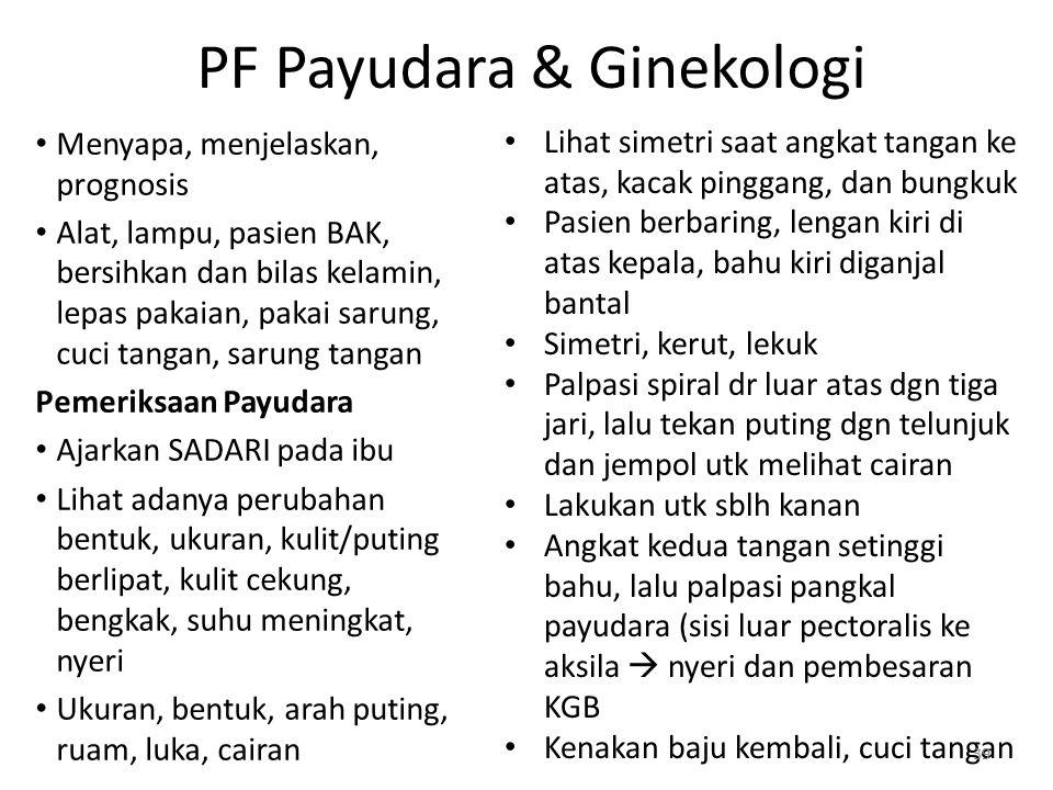 PF Payudara & Ginekologi