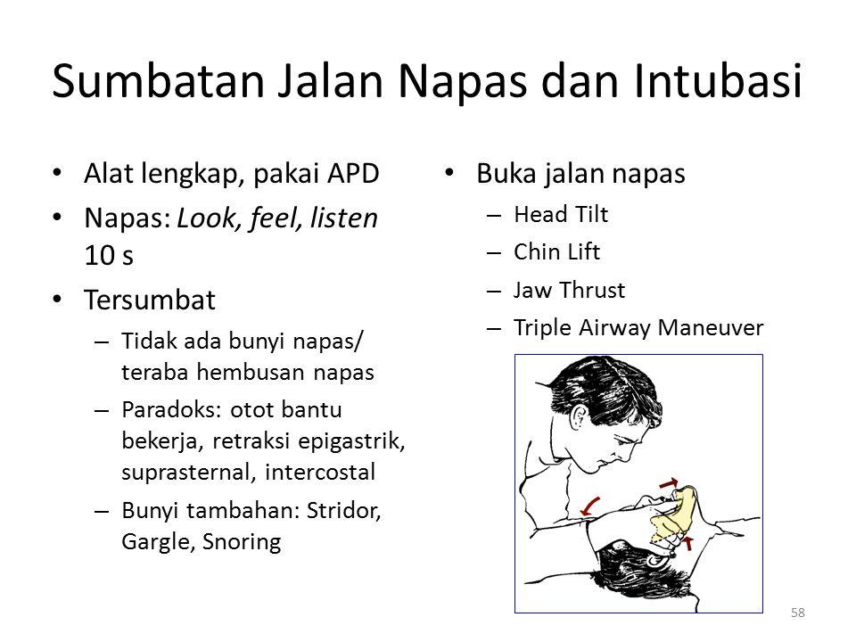 Sumbatan Jalan Napas dan Intubasi