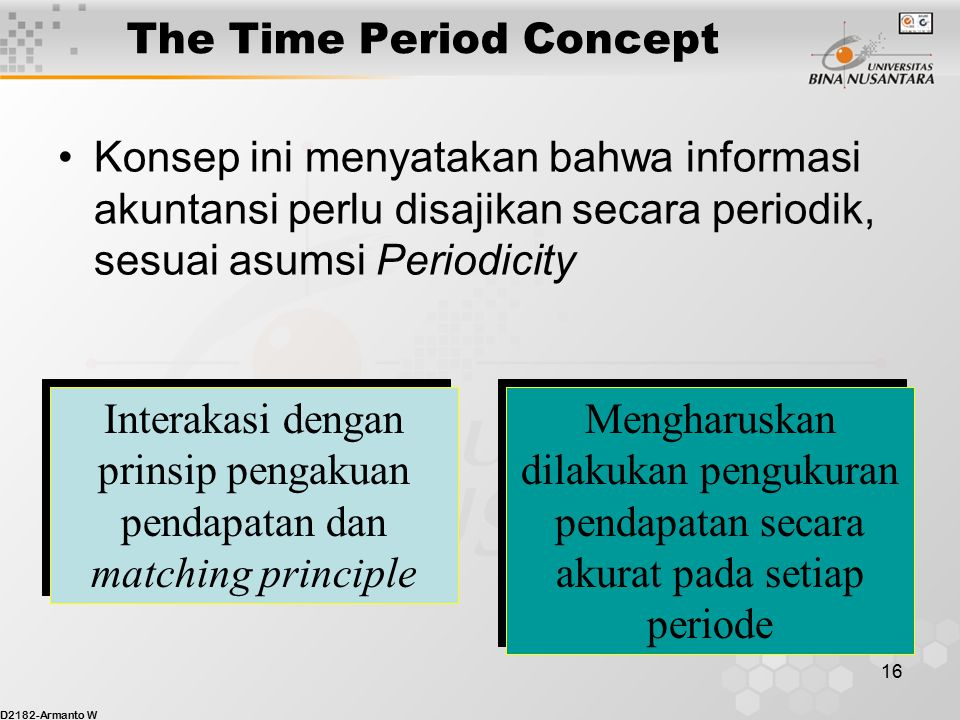 The Time Period Concept