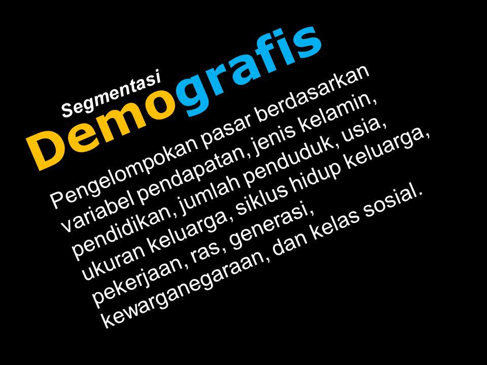Demografis Segmentasi.