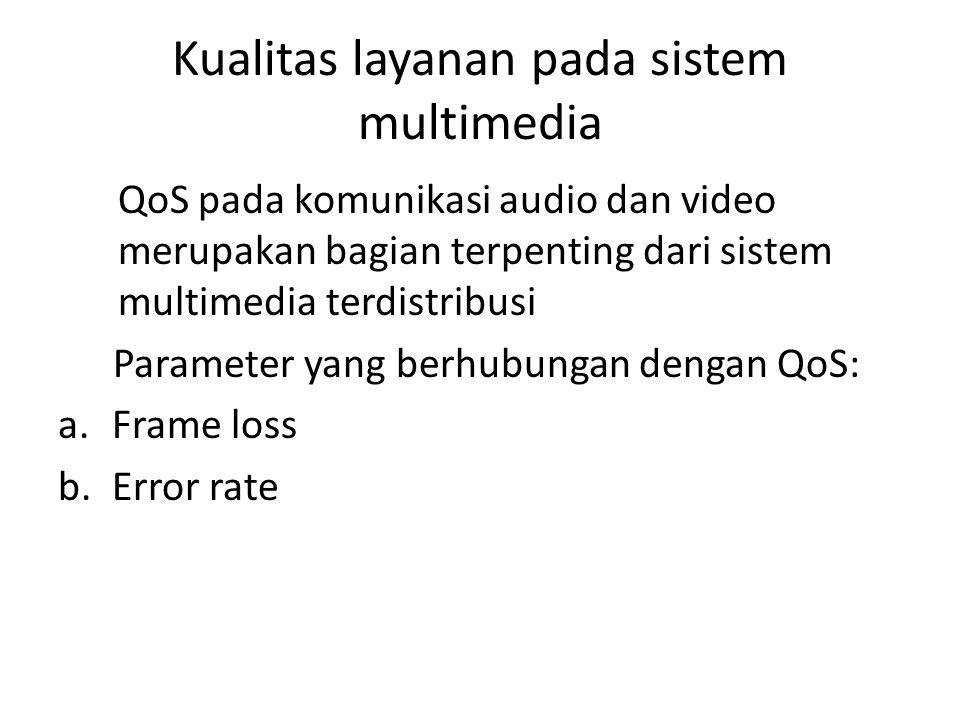 Kualitas layanan pada sistem multimedia