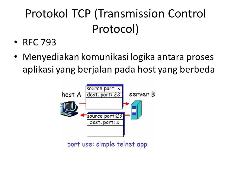 Protokol TCP (Transmission Control Protocol)