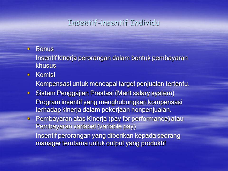 Insentif-insentif Individu