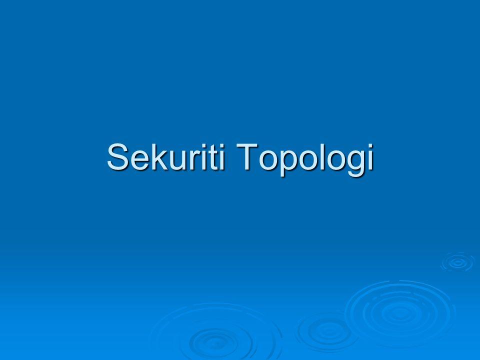 Sekuriti Topologi