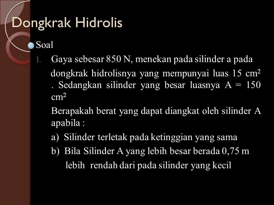 Dongkrak Hidrolis Soal
