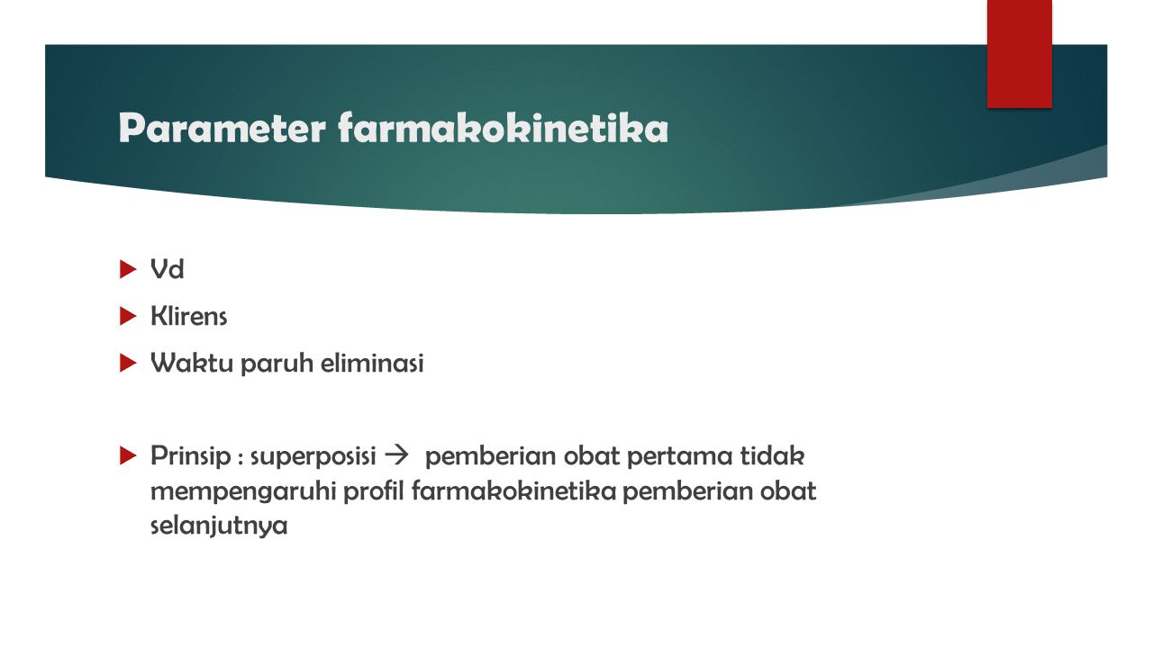 Parameter farmakokinetika
