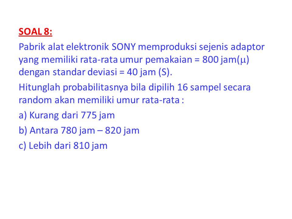 SOAL 8: