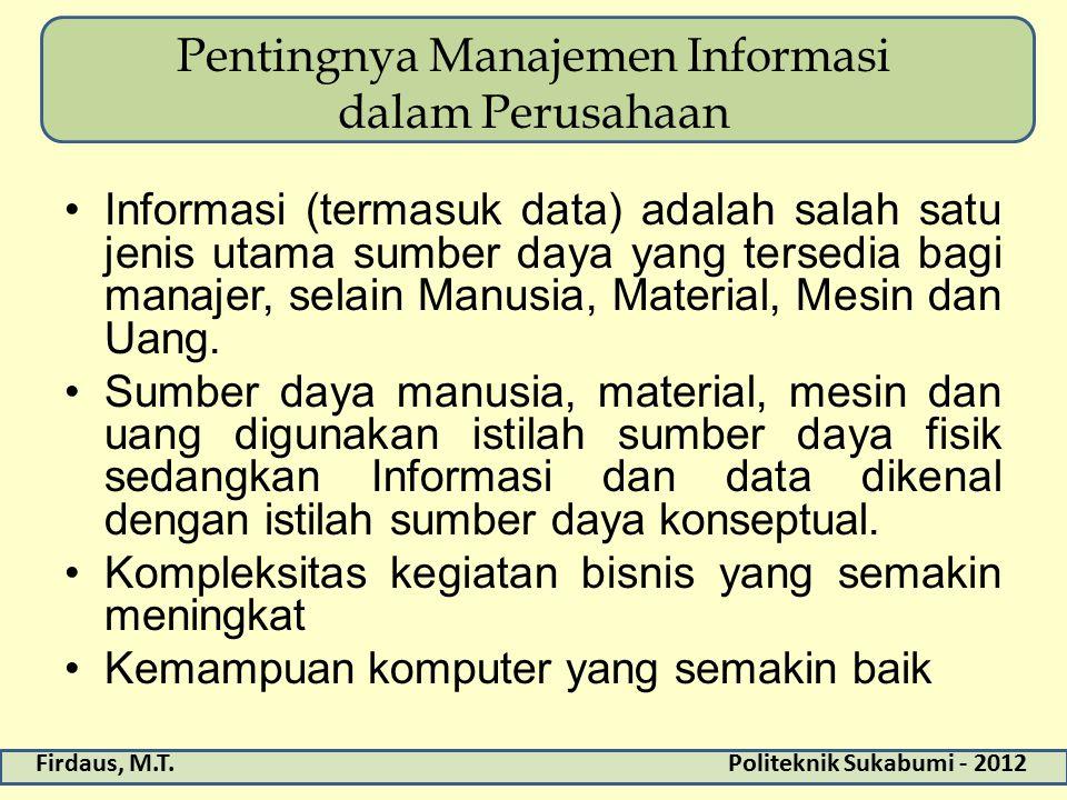 Pentingnya Manajemen Informasi dalam Perusahaan
