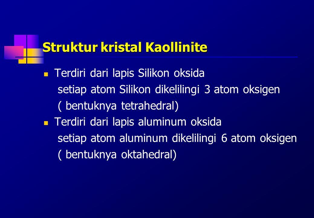 Struktur kristal Kaollinite
