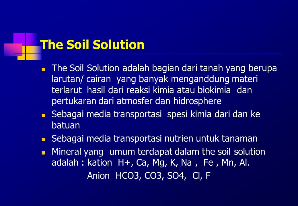 The Soil Solution