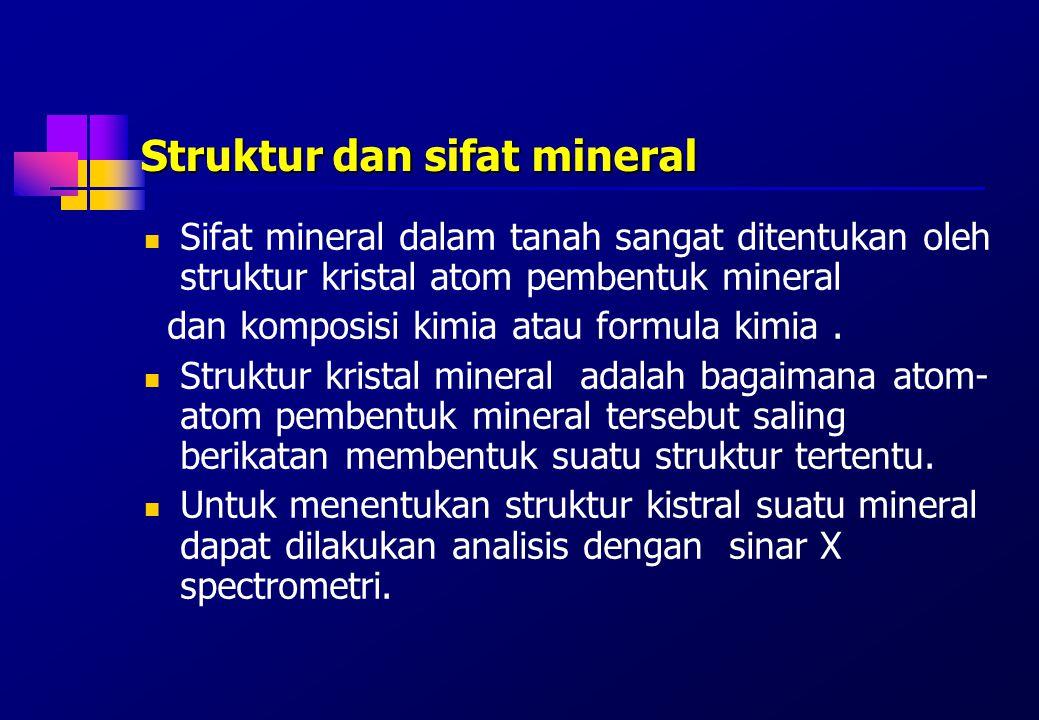 Struktur dan sifat mineral