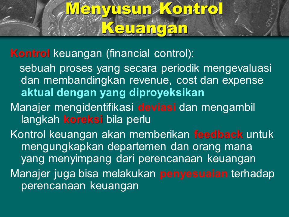 Menyusun Kontrol Keuangan