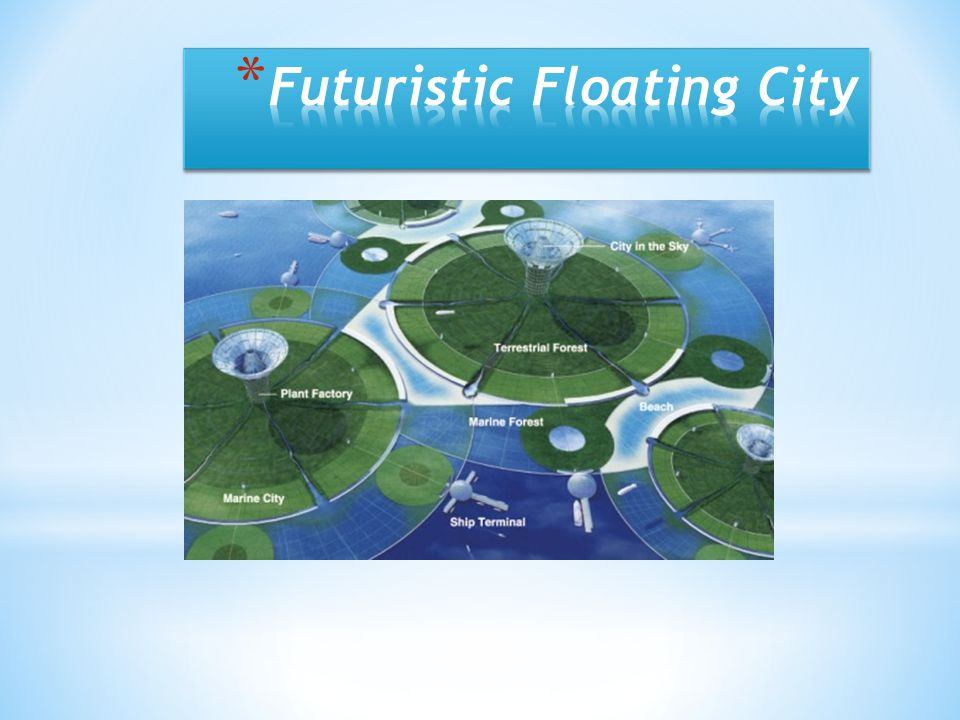 Futuristic Floating City