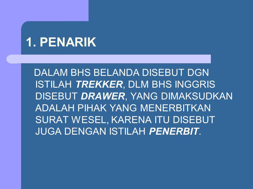 1. PENARIK