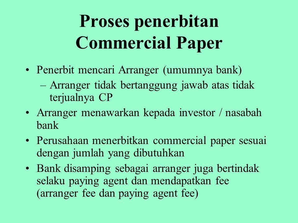 Proses penerbitan Commercial Paper