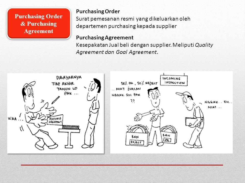& Purchasing Agreement