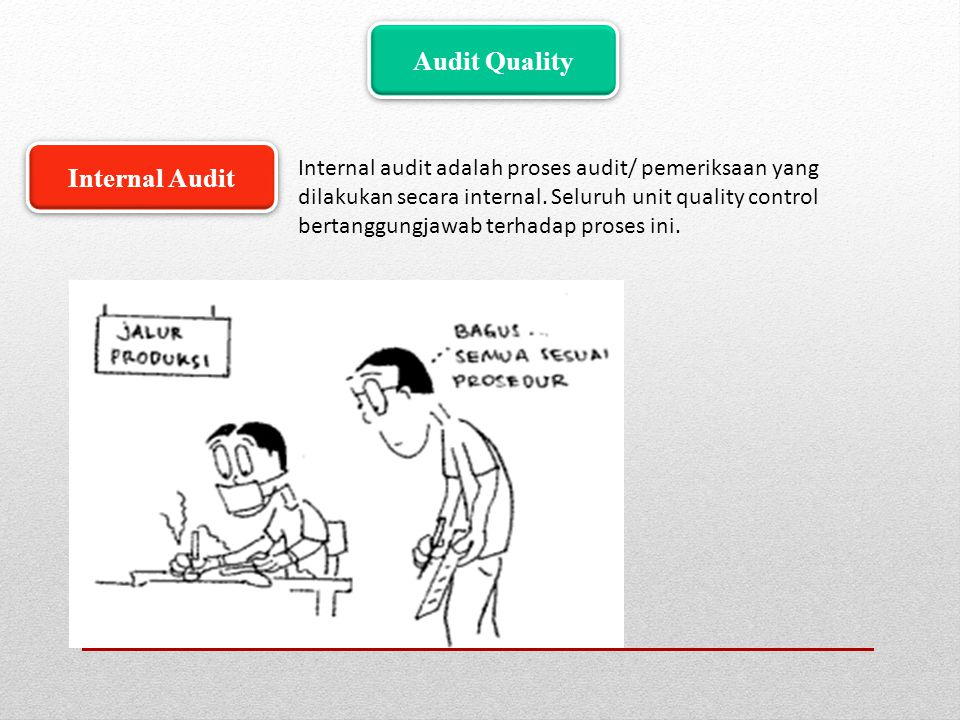 Audit Quality Internal Audit