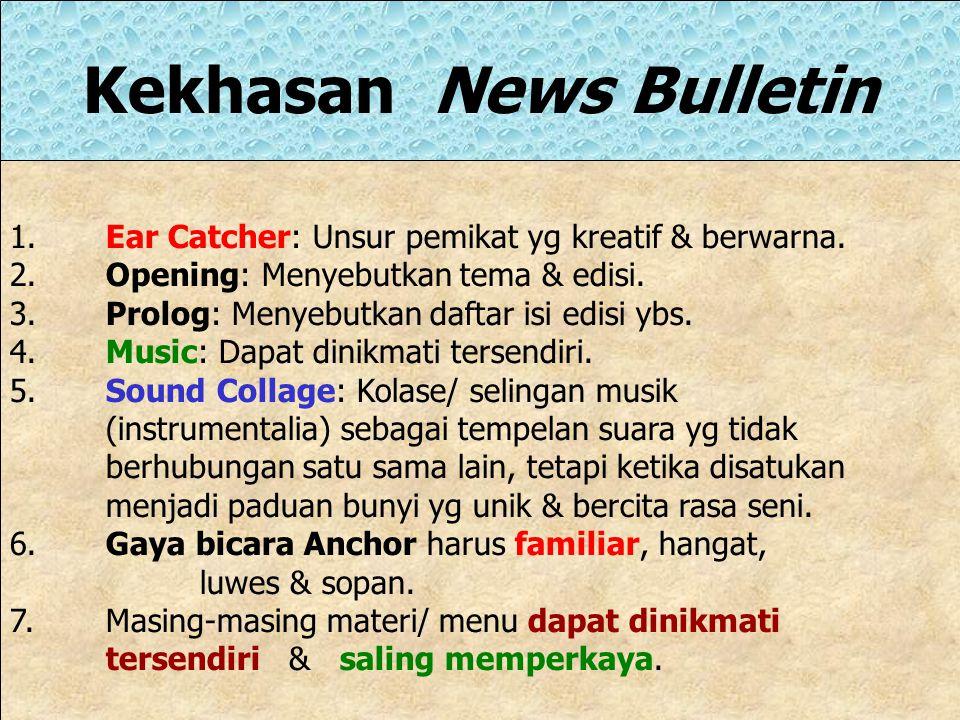 Kekhasan News Bulletin