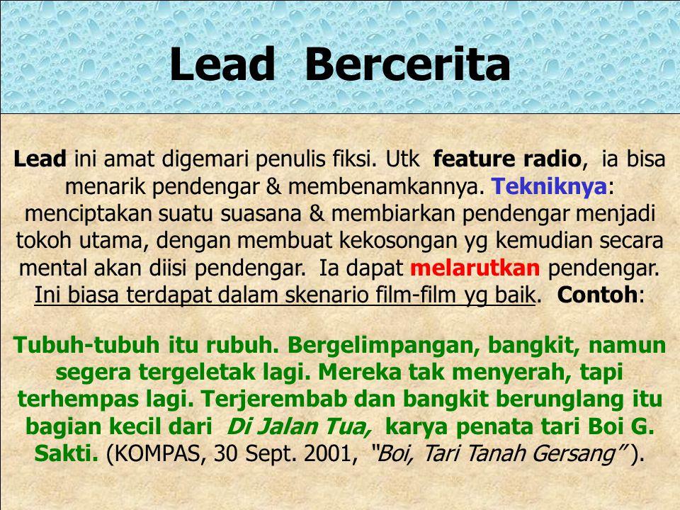 Lead Bercerita