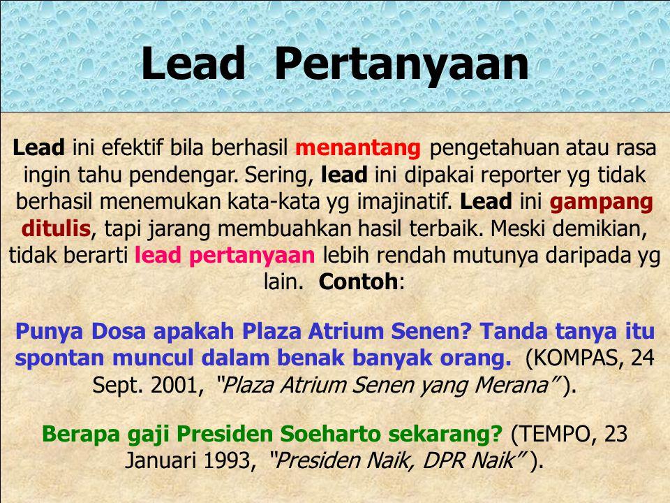 Lead Pertanyaan